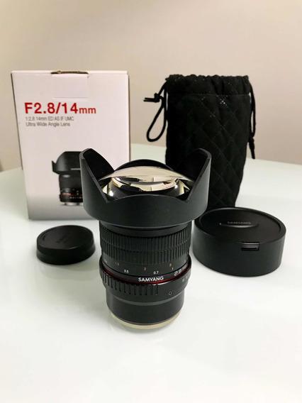 Samyang 14mm F/2.8 Ed As If Umc Para Sony E Mount