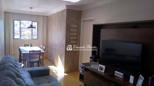 Apartamento Com 2 Dormitórios À Venda, 55 M² Por R$ 235.000,00 - Jardim Dourado - Guarulhos/sp - Ap0184