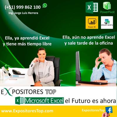 Clases Cursos De Excel Para Empresas Clases De Excel En Lima