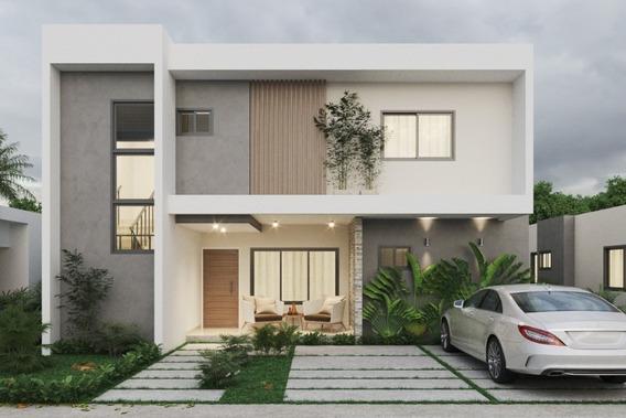 Casas En Residencial Cerrado - Punta Cana