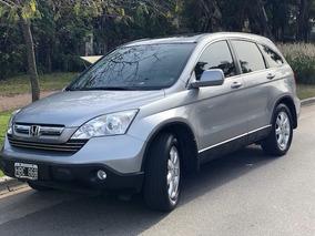 Honda Crv Cr-v 2.4 Exl 4x4 Aut. La Mas Full Techo-cuero Okm