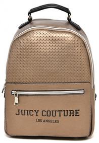Mochila Juicy Couture Los Angeles Dourada