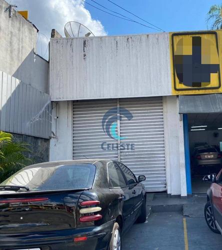 Salão Para Alugar, 100 M² - Jardim São Dimas - São José Dos Campos/sp - Sl0309