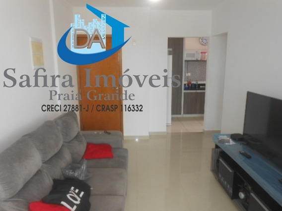 Excelente Apartamento De 01 Dormitório (suíte) Para Locação No Canto Do Forte Em Praia Grande. - Ap00259 - 33147322