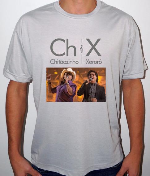 Camiseta Ou Baby Look Chitãozinho E Xororó