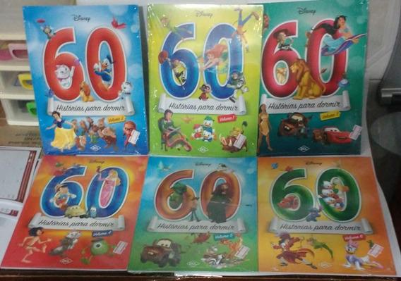 360 Histórias Para Dormir Disney 6 Livros Coleção Completa