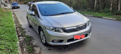 Imagem 1 de 7 de Honda Civic 2014 2.0 Lxr Flex Aut. 4p