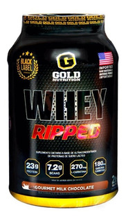 Whey Ripped Gold Nutrition X 2lb