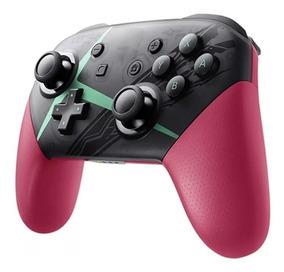 Pro Controller Para Nintendo Switch Sem Fio - Tema Xenoblade
