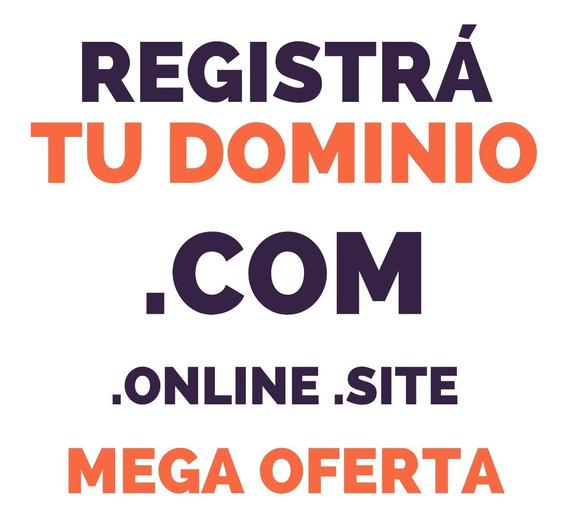 Dominio .com Y Más   Registro De Dominios Web Anual
