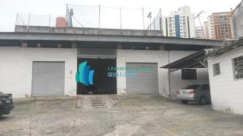 Galpão/pavilhão A Venda No Bairro Saúde Em São Paulo - Sp.  - 362-1