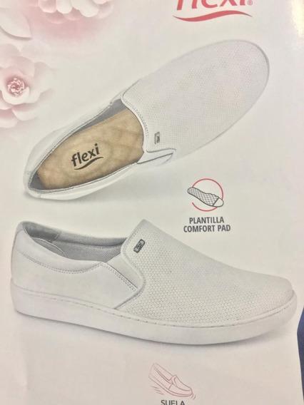 Zapato Flexi Dama Doctora/enfermeda 100% Piel
