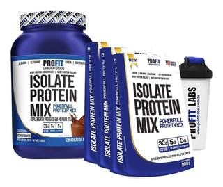 Whey Isolate Protein Mix 907g + 3x Refil 900g + Coq - Profit