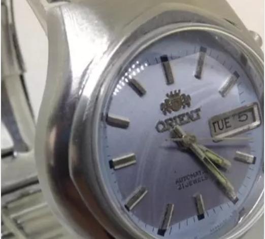 Relógio De Pulso Orient Masculino T09445 Automático Webclock