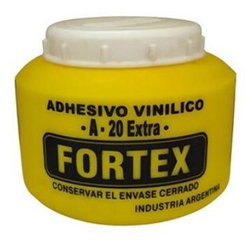 Cola Carpintero Vinilica Fortex X 1/4 Kg Pote 250 Cms