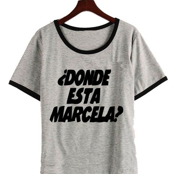 Remera Luis Miguel La Serie Donde Esta Marcela Micky Mujer