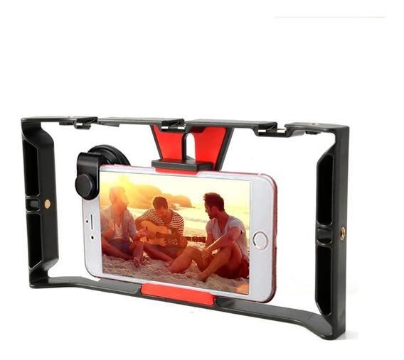 Estabilizador Cage Rig Suporte Para Celular Smartphone