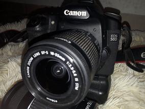 Vendo Câmera 50 D Canon Acompanha Cartão 8gb Lente 18.55