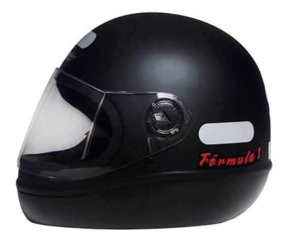 Capacete para moto integral San Marino Classic preto-fosco tamanho 58