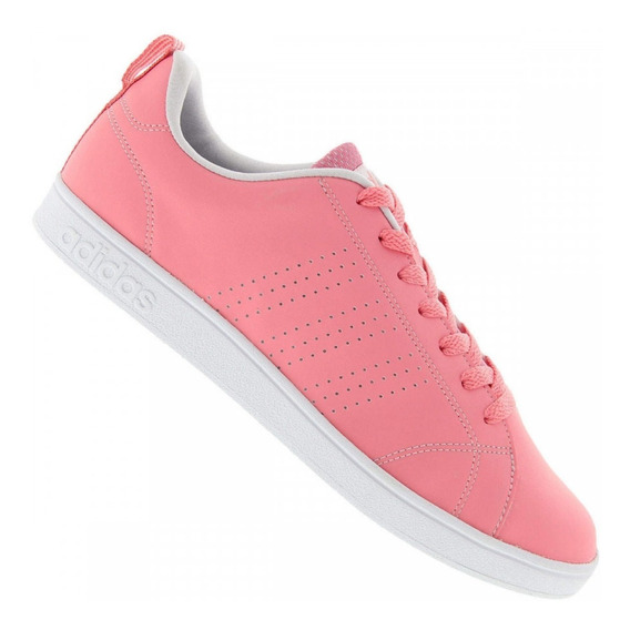 Tênis adidas Feminino Casual Advantage Clean Vs - Salmão