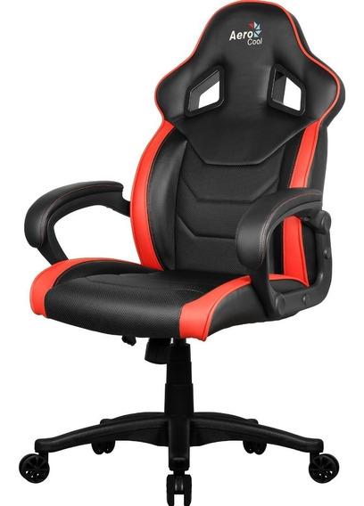 Cadeira Gamer Aerocool Ac60c Vermelha