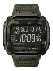Relogio Timex Command Shock Verde Camuflado - Tw5m20400