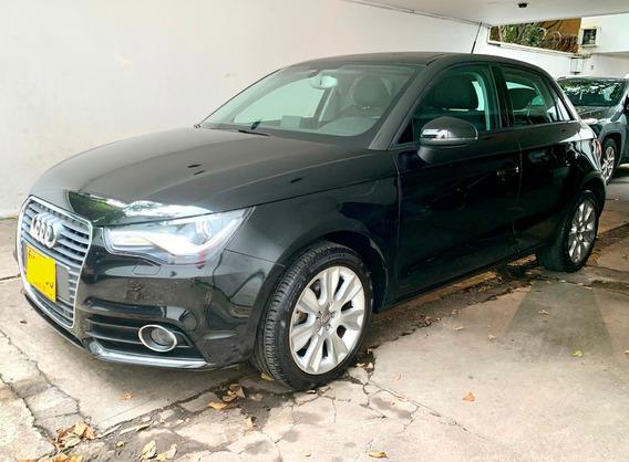 Audi Sportback A1 2015 Negro 5 Puertas
