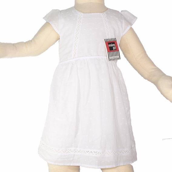 Vestido Beba Blanco Coral Fiesta H/ T. 6. Regalosdemama
