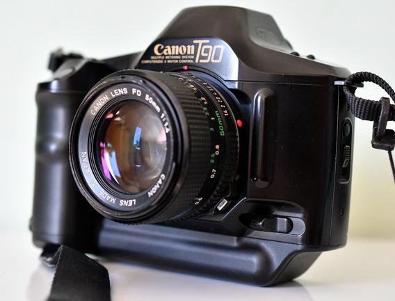 Câmera Canon T90 Analógica - Show!! Analógica