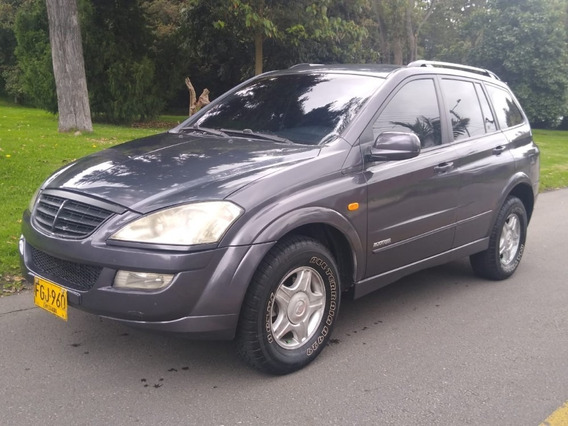 Ssangyong Kyron 4x4 Turbo Diesel Aut 7 Puestos Full Equipo