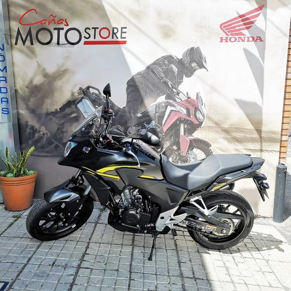 Honda Cb 500x Negra 2015