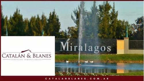 Ruta 2  - Miralagos 1 Lote Vista Lateral Lago Y Area Verde