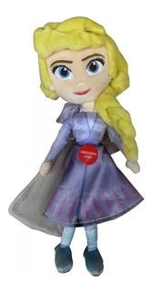 Elsa Peluche De 20 Cm Con Sonido De Frozen 2 En Magiomundo!!