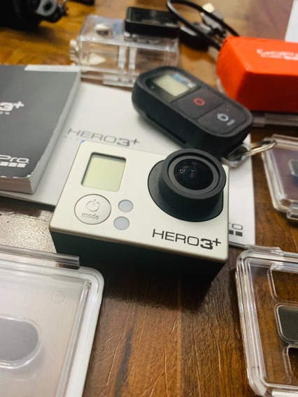 Go Pro Hero 3+ Silver