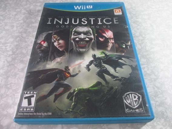 Wii U - Injustice Gods Among Us - Original Americano