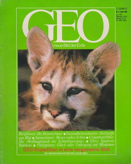 Revista Geo Nr. 4 April 1986 Germany