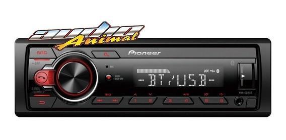 Pioneer Stereo Mvh 215 Bt Usb Aux Mp3 50x4 Garantia Oficial