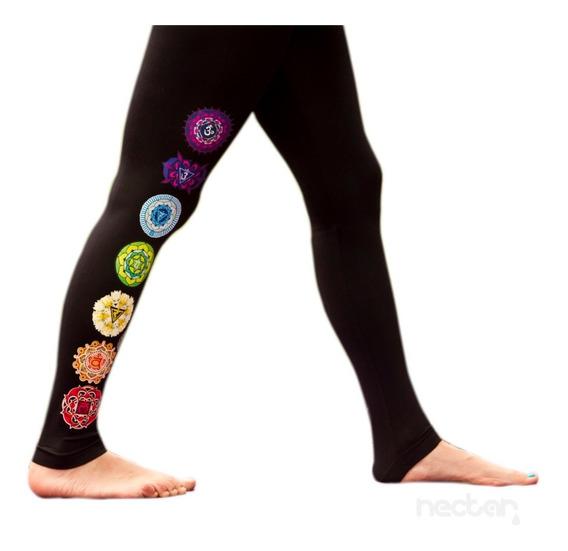Ropa Para Yoga Leggings De Algodon Con Chakras