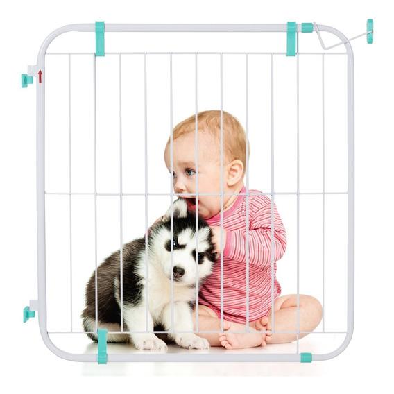 Portão Expansivo Para Cães Bebês Grade Proteção 70cm A 115cm