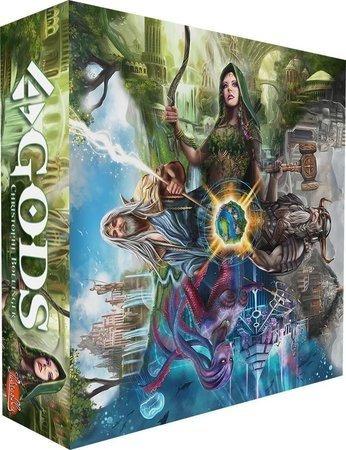4 Gods Board Game Jogo De Tabuleiro Conclave