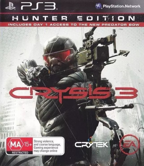 Jogo Crysis 3 Playstation 3 Ps3 Mídia Física Game