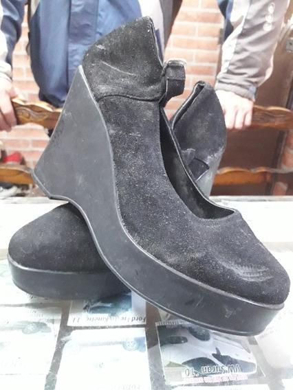 Zapatos Plataforma Dama N 34 Gabi Mar