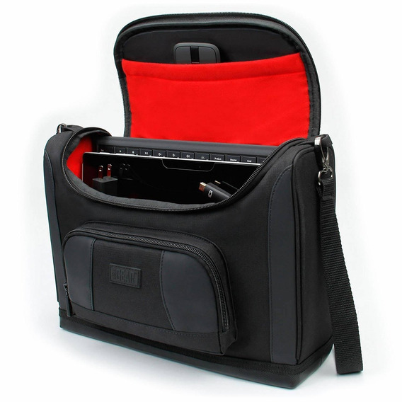 Surface Pro Tablet Case Bag By Usa Gear (red) Weather Resist