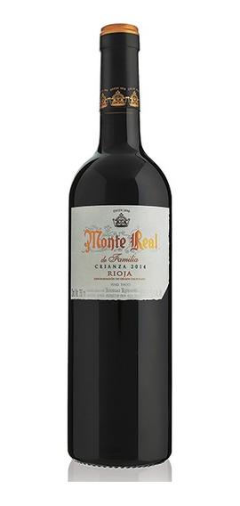 Vino Tinto Monte Real Crianza 750 Ml