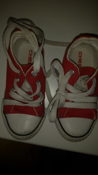 Zapatillas Cheeky 22/23 Rojo Imoecables
