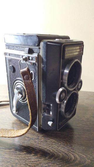 Máquina Fotográfica Rollei Magic Ii Com Capa Original