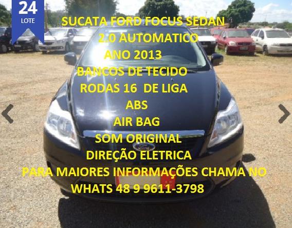 Sucata Ford Focus Sedan 2.0 Automático 2013