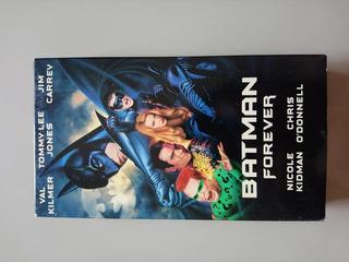 Batman Forever Vhs Original Nuevo 1995 Nicole Kidman