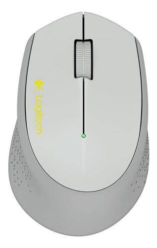 Mouse Logitech Sem Fio Cinza M280