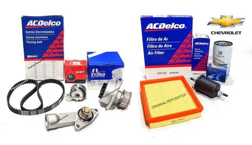 Kit Distribución + Kit Filtros Chevrolet Corsa Motor 1.4 8v